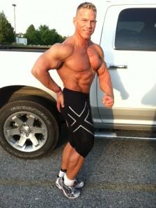 Bodybuilder Side Chest Pose